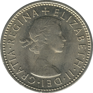 British pre-decimalisation coin