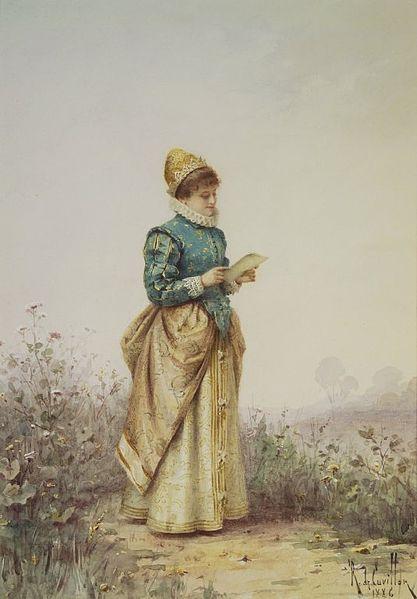 File:Brooklyn Museum - Renaissance Woman Reading a Letter - Louis-Robert de Cuvillon.jpg