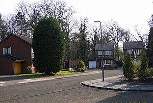 Brookside - Brookside Close in 2007.