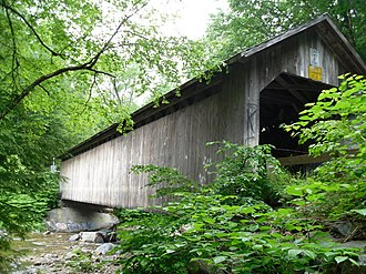 Brown Covered Bridge - Bridge in 2010