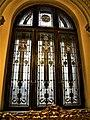 Bucuresti, Romania. MUZEUL NATIONAL COTROCENI. (Holul de la intrare)(Fereastra cu vitraliu); (B-II-a-A-19152).jpg