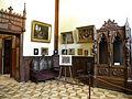 Bucuresti, Romania. Muzeul Theodor Aman (atelierul pictorului; coltul cu sevalet, detaliu 1) B-II-m-A-19621.JPG