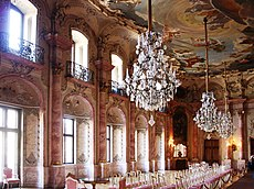 Festsaal von Schloss Bückeburg