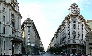 Buenos Aires Central Business District - Diagonal Norte Avenue