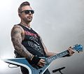 Bullet for My Valentine at Hovefestivalen 2013 closeup.jpg