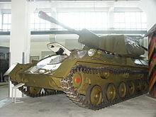 SU-76M at the Dresden museum - Credits: Wikimedia commons
