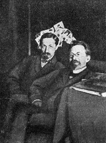 И. А. Бунин и А. П. Чехов
