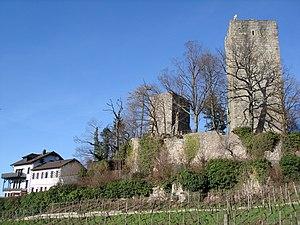 Windeck Castle (Bühl) - Image: Burg Windeck