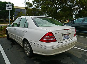 Mercedes-Benz C-Class (W203) - Sedan (facelift)