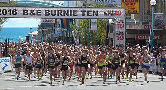 Burnie Ten - The start in 2016