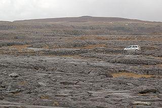 The Burren Glaciated karst landscape region in northwest County Clare, Ireland