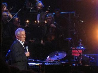 Burt Bacharach - Bacharach performing in 2008
