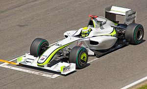 Brawn GP - Jenson Button en route to his win at the 2009 Spanish Grand Prix
