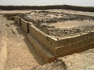 Adulis - A 5th-century Byzantine Christian basilica at Adulis, excavated in 1914