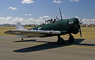 CAC Wirraway - A surviving CA-16 Wirraway operating as a warbird