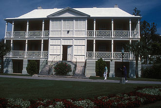 Paget Parish - Camden, official residence of the Premier of Bermuda, is in the parish