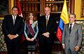 CANCILLER GARCÍA BELAUNDE CONDECORA A EMBAJADORA DE COLOMBIA EN EL PERÚ (5258300711).jpg