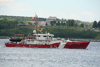 Damen Stan patrol vessel - Canadian Coast Guard  patrol vessel CCGS Private Robertson V.C.
