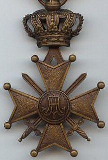 Belgian military award