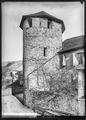 CH-NB - Lutry, Tour nord du mur d'enceinte, vue d'ensemble extérieure - Collection Max van Berchem - EAD-7326.tif