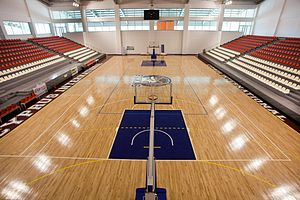 Cyprus International University - The basketball field at CIU Arena