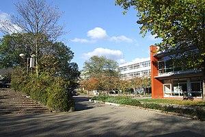CJD Christophorusschule Königswinter - Image: CJD Koenigswinter Schulhof
