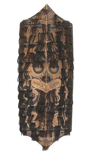 Klebit Bok - A Klebit Bok shield, circa 1875–1925.