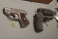 COP 357 derringer and Thunder 5 revolver.jpg