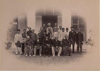 Undang - Chiefs of Negeri Sembilan, 1897.