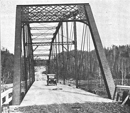 CR510 steel bridge 1922