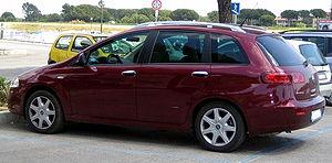 Car platform - Fiat Croma