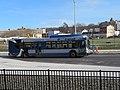 CT Transit bus at Meriden station, December 2017.JPG