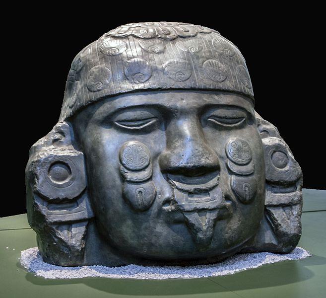 Cabeza de la diosa Coyolxauhqui