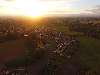 Calderbank - Calderbank at sunset.