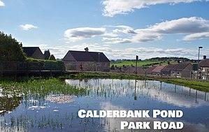 Calderbank - Image: Calderbank pond park road