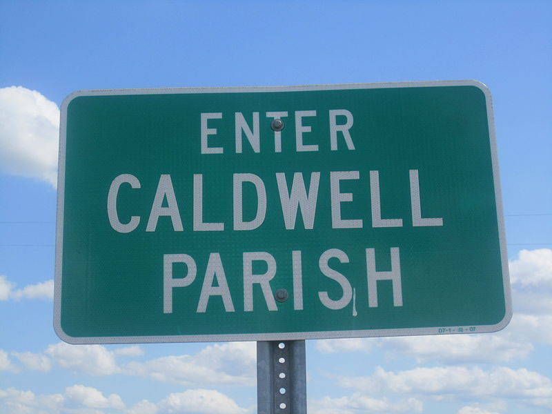 ファイル:Caldwell Parish sign, LA, IMG 2755.JPG