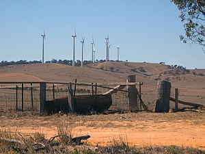 Origin Energy - Image: Callicum Hills Wind Farm