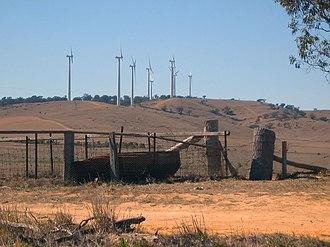 Origin Energy - Challicum Hills Wind Farm