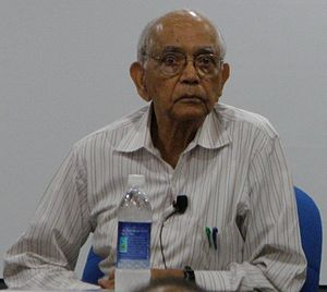 C. R. Rao - Prof. Rao at the Indian Statistical Institute, Chennai in April 2012