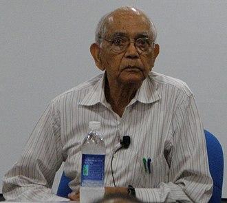 C. R. Rao - Image: Calyampudi Radhakrishna Rao at ISI Chennai (cropped)