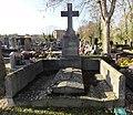 Cambrai - Cimetière de la Porte Notre-Dame, sépulture remarquable n° 10, Henri Mallez, maire de Cambrai et député (01).JPG