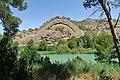 Caminito del Rey, Arco Gótico, plegamiento geológico.jpg