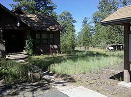 Camp Clover Ranger Station