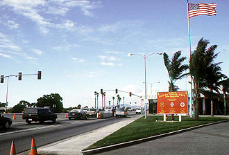 Marine Corps Base Camp Pendleton - Image: Camp Pendleton front gate