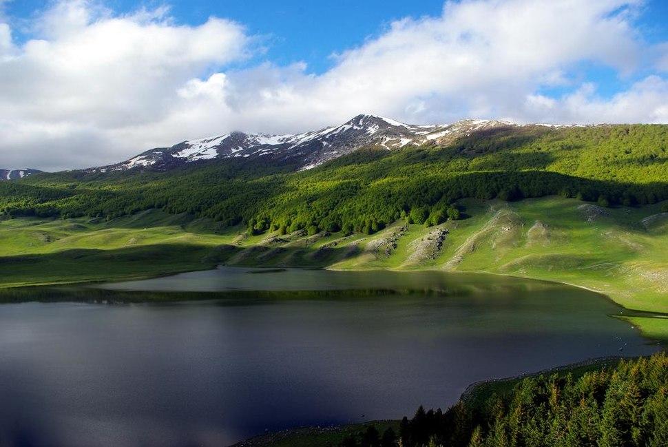 Campo Felice Lake