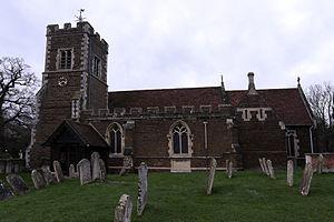 Campton, Bedfordshire - Image: Campton Church
