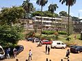 Campus University of Yaoundé I (2014) view from scolarité 2.JPG