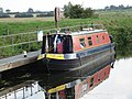 Canal Boat on River Cam at Bottisham Lock - geograph.org.uk - 344333.jpg