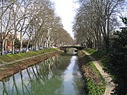 The Canal du Midi, Toulouse, France