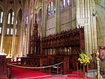 Canons' Stalls St John's Cathedral, Brisbane 052013 660.jpg